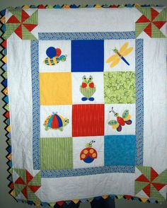 Happy Critters Baby Quilt