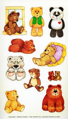Current, Inc. bear stickers