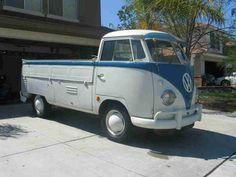 1958 VW Single Cab Transporter For Sale @ Oldbug.com