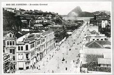 Rio Antigo - Avenida Central e Morro do Castelo