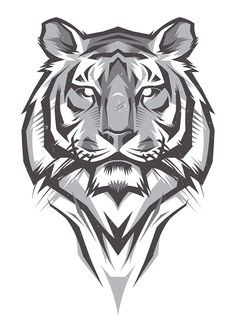 Shulyak Brothers - tiger illustrations                                                                                                                                                                                 Más