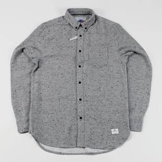 Penfield Ridgley Long Sleeve Shirt Grey