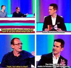 Not only is 8 Out Of 10 Cats one of my favorite shows but Jimmy Carr is one of my absolute favorite comedians British Humor, British Comedy, Comedy Show, Stand Up Comedy, 8 Out Of 10 Cats, Jimmy Carr, Film Books, Inevitable, Comedians