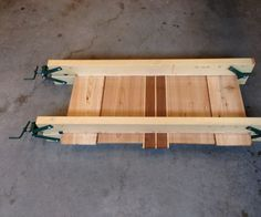 Accurately glueing up large panels can be a real challenge. As you increase the clamping pressure, the panels have a tendency to slide out of vertical alignment o...