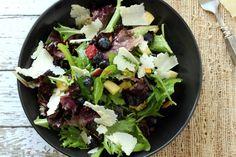 Blueberry Apple Green Salad