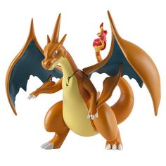 "Watch out rival trainers, Battle Action Mega Charizard Y is fired up and ready for battle!  At 6"" tall with eight points of articulation, no one can stop Mega Charizard Y!  Press down on Mega Charizard Y's tail to activate the battle action: the wings beat and the fiery jaws snap at the opposition! Gotta Catch âEm AllTM!"