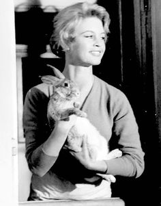 """meganmonroes: """"""""Brigitte Bardot and a friend in And God Created Woman (1956) """" """""""