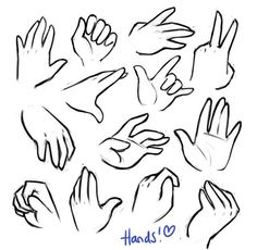 Hand Reference Together Drawings Hand Drawing Reference, Art Reference Poses, Drawing Techniques, Drawing Tutorials, Painting Tutorials, Drawing Expressions, Drawing Eyes, Drawing Hands, Chibi Drawing