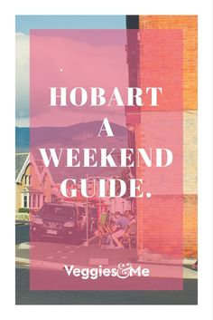 My itinerary for a weekend getaway in Hobart, Tasmania. Tasmania Road Trip, Tasmania Travel, Weekends Away, Adventure Is Out There, Holiday Travel, Weekend Getaways, Family Travel, Tourism, Places To Visit
