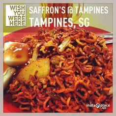 Maggie goreng at Saffrons