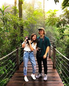 We were excited to welcome YouTubers @georgia_productions & @noah.davies into #TheAncientRainforest yesterday They had a great time exploring @tropicalnorthqueensland with @nickelodeon_au