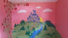 Child's bedroom mural