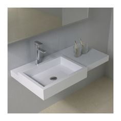 Plan vasque solid surface Réf : SDPW48