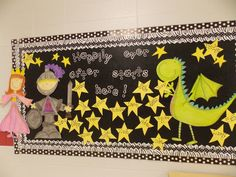 Love this! I think my kids will love this bulletin board during fairy tale theme