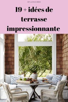 19+ meilleurs idées de terrasse pour rendre votre jardin impressionnant Outdoor Furniture Sets, Furniture, Outdoor Decor, Diy Home Decor, Outdoor Furniture, Home Decor, Home Deco, Inspiration, Furniture Sets