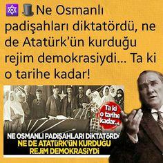 """Instagram'da Kenan Gümüş ...✒: """"🔯🎩Ne Osmanlı padişahları diktatördü, ne de Atatürk'ün kurduğu rejim demokrasiydi… ❌Ta ki o tarihe kadar! ❌İlkokuldan başlayarak bana…"""""""