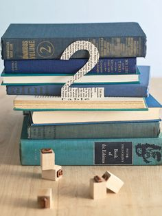 Literary book table number