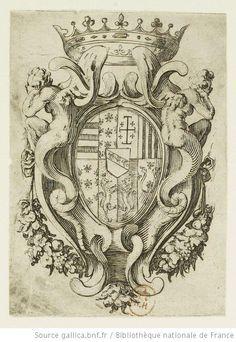 Armoiries de Lorraine, Jacques Callot, 1612-1616.