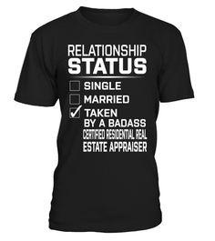 Certified Residential Real Estate Appraiser - Relationship Status