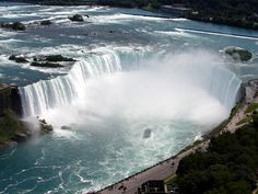 The mighty Niagara Falls - Canadian side