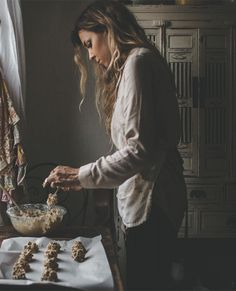 """""""Every person has a heart to create and inspire, and they each have a beautifully unique story to tell."""" — Tiffany Mitchell   Explore her kitchen and popular Instagram account, @tifforelie, inside Where Women Cook."""