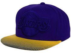 separation shoes 153ed f637c Los Angeles Lakers Mitchell   Ness NBA City Undervisor Snapback Cap