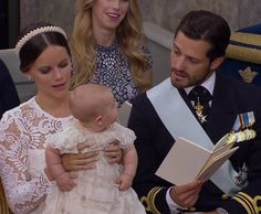 The family of Prince Carl Philip of Sweden