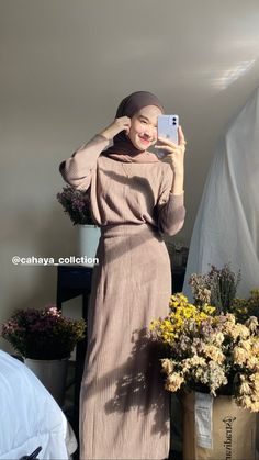 Modern Hijab Fashion, Street Hijab Fashion, Hijab Fashion Inspiration, Muslim Fashion, Modest Fashion, Girl Fashion, Korean Fashion, Fashion Outfits, Modest Outfits