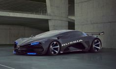 Nikita Morozov: LADA Raven concept 2013