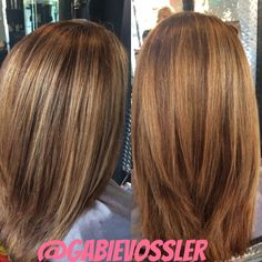#balayage Hair By Gabie Vossler At Glass Door Salon And Spa #fall  #haircolor | Make Up And Hair I Have Done | Pinterest | Balayage And Salons