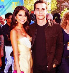 Dylan O'Brien (Teen Wolf) and Selena Gomez Are ment to be together ♥