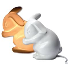 Rabbit Night Lamp - Putting your baby to bed has never been a sweeter time then with this rabbit shaped lamp a glow. Perfect for the nursery! #PNshop