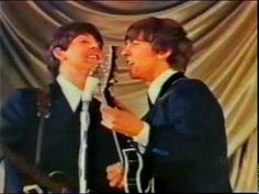 The Beatles come to town - RARE early  color footage of the Beatles performing in Manchester, England,1963. Some clips of the Fab Four before and during the concert. Enjoy!
