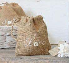 Burlap sack gift bag?