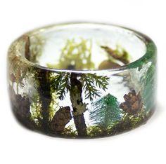 Magical Forest Terrarium Bracelet