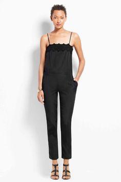 Ann Taylor Spaghetti Strap Jumpsuit, $139.99, available at Ann Taylor