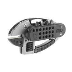 Columbia River CRKT 9070 Guppie Multi-Tool Adjustable Wrench, Bit Carrier Plus Fixed Blade Hunting Knives, Adjustable Wrench, Camping Tools, Power Metal, Thing 1, Edc Gear, Knives And Tools, Lame, Folding Knives