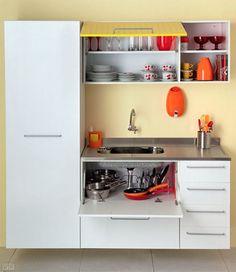Aprenda a organizar os armários da cozinha. Kitchen Room Design, Home Decor Kitchen, Interior Design Kitchen, Kitchen Furniture, Black Kitchens, Luxury Kitchens, Home Kitchens, Apartment Kitchen, Layout Design