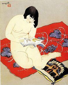 Ishikawa Toraji - IMAGINA Y CREA: WOMEN READING, PAINTINGS
