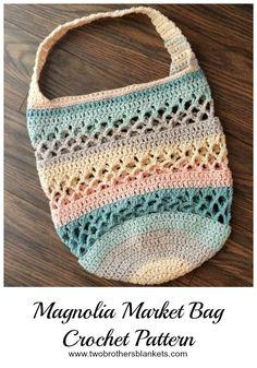 Magnolia Market Bag Crochet Pattern - Two Brothers Blankets Crochet  Handbags 433d9dff7