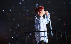 Download wallpapers J-Hope, 4k, korean singer, rapper, concert, guys, celebrity