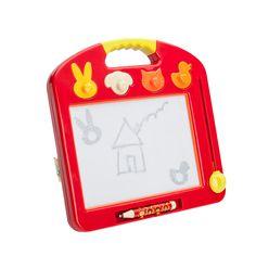 Comme avec toutes les ardoises magiques, l'enfant dessine, efface, dessine, efface et recommence inlassablement. Il utilise les…