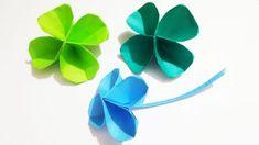 幸運を呼ぶ四つ葉のクローバーをいつでも手元に♪折り紙で作るクローバーで幸せのおすそ分け、いかがですか?折り方・作り方をご紹介します!