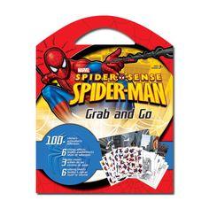 Spider-Man Grab and Go Sticker Book [110+ Stickers]