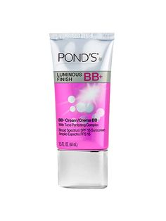 Pond's Luminous Finish BB+ offers glowing coverage and featherweight texture