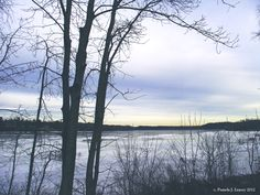 Daily Affirmations: In The Still  photo: winter on the merrimack river