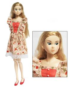 Floral Doll Clothes Doll Dresses Doll Clothing/Momoko Clothes/Blythe Dresses/Jenny Doll Skirt