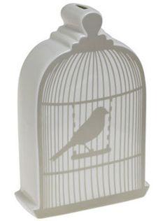 bird cage bank