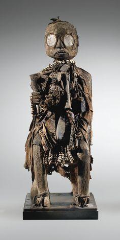 Fon Bocio protective figure, Kingdom of Dahomey African Sculptures, Sculptures Céramiques, Lion Sculpture, Arte Tribal, Tribal Art, Afrique Art, Art Populaire, Art Premier, Art Africain