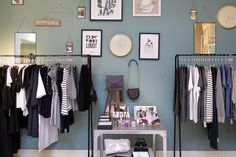 Picture frames and clothing rails
